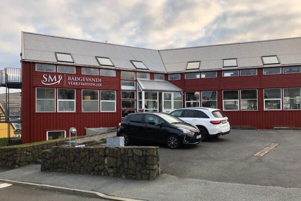 SMJ bygningur í Tórshavn