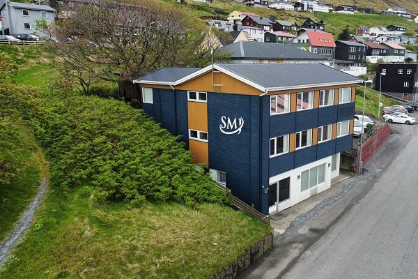 SMJ bygningur í Klaksvík