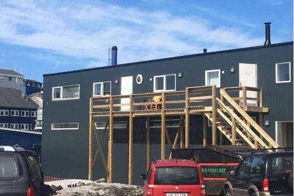 SMJ bygningur í Nuuk